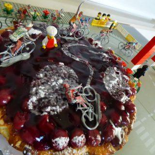 de kers op de taart